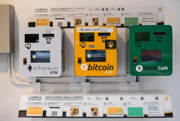5 crypto atm machines