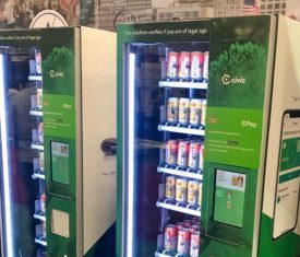 Crypto Powered Beer Vending Machines