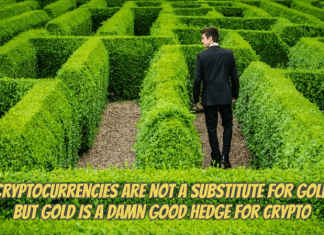 gold as a crypto hedge
