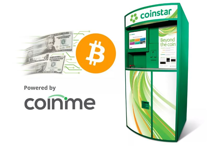 Coinstar Adds 2000 New Bitcoin Kiosks