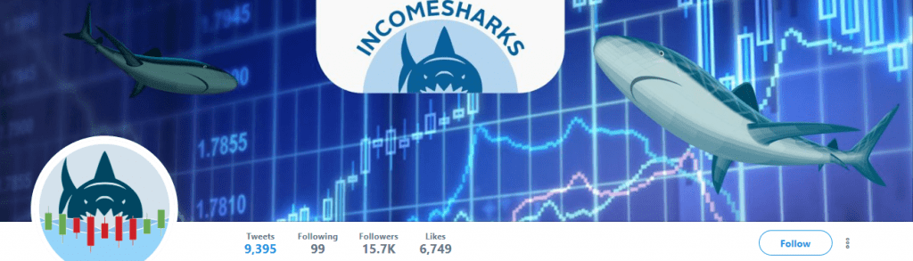 Income Sharks Twitter