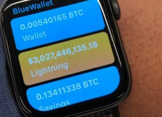 Apple Smartwatch New App Connects Bitcoin Lightning Network