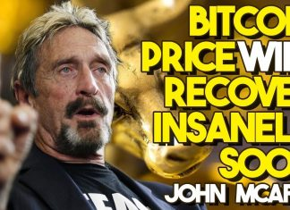Bitcoin Price to rise in a week McAfee