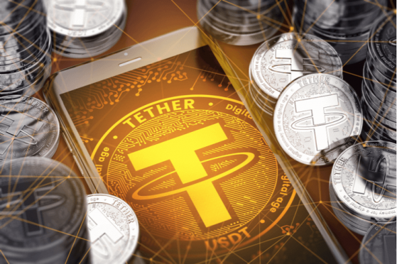 Tether USDT Behind Bitcoin Rally