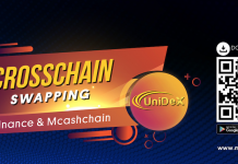 Unidex BNB MCASH Coin Swap
