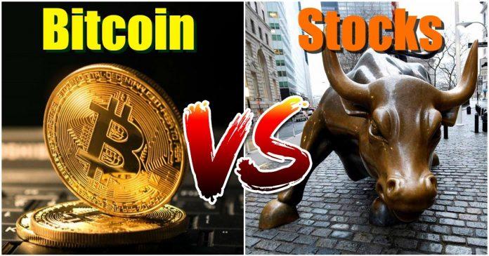 Investors flee to bitcoin