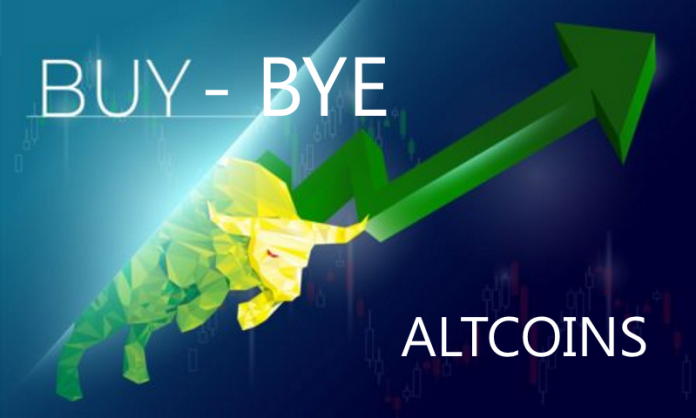 Buy Bye Altcoins
