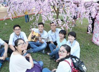 Vietnamese students use blockchain